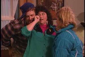 Roseanne and Dan embarrass Becky