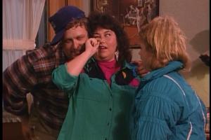 Roseanne and Dan embarrass Becky