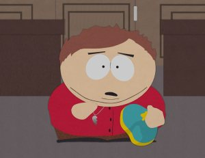 Cartman with BFF Necklace