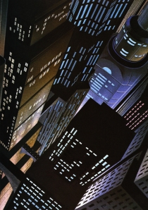 Gotham Dark Deco