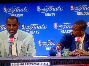 LeBron and Wade Press Conference