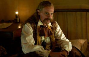 Wild Bill (Keith Carradine) wins the mustache contest.