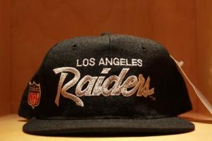Raiders snapback