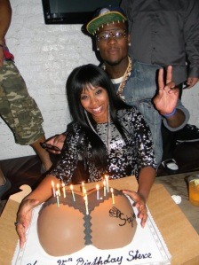 Stevie Johnson's Ass Cake