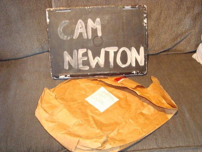 Cam Newton's Laptop