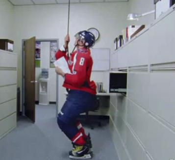 Ovechkin Russian Spy Commercial