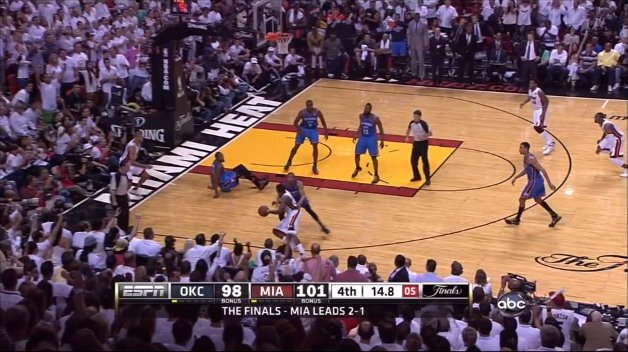 Westbrook Fouls Chalmers