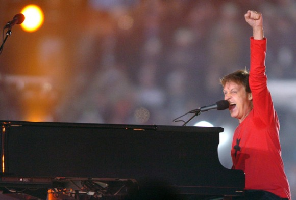 Paul McCartney Super Bowl