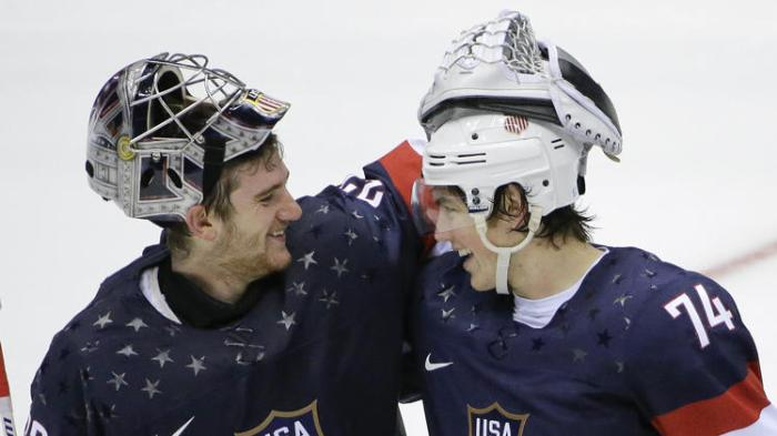 TJ Oshie and Jonathan Quick, because America.